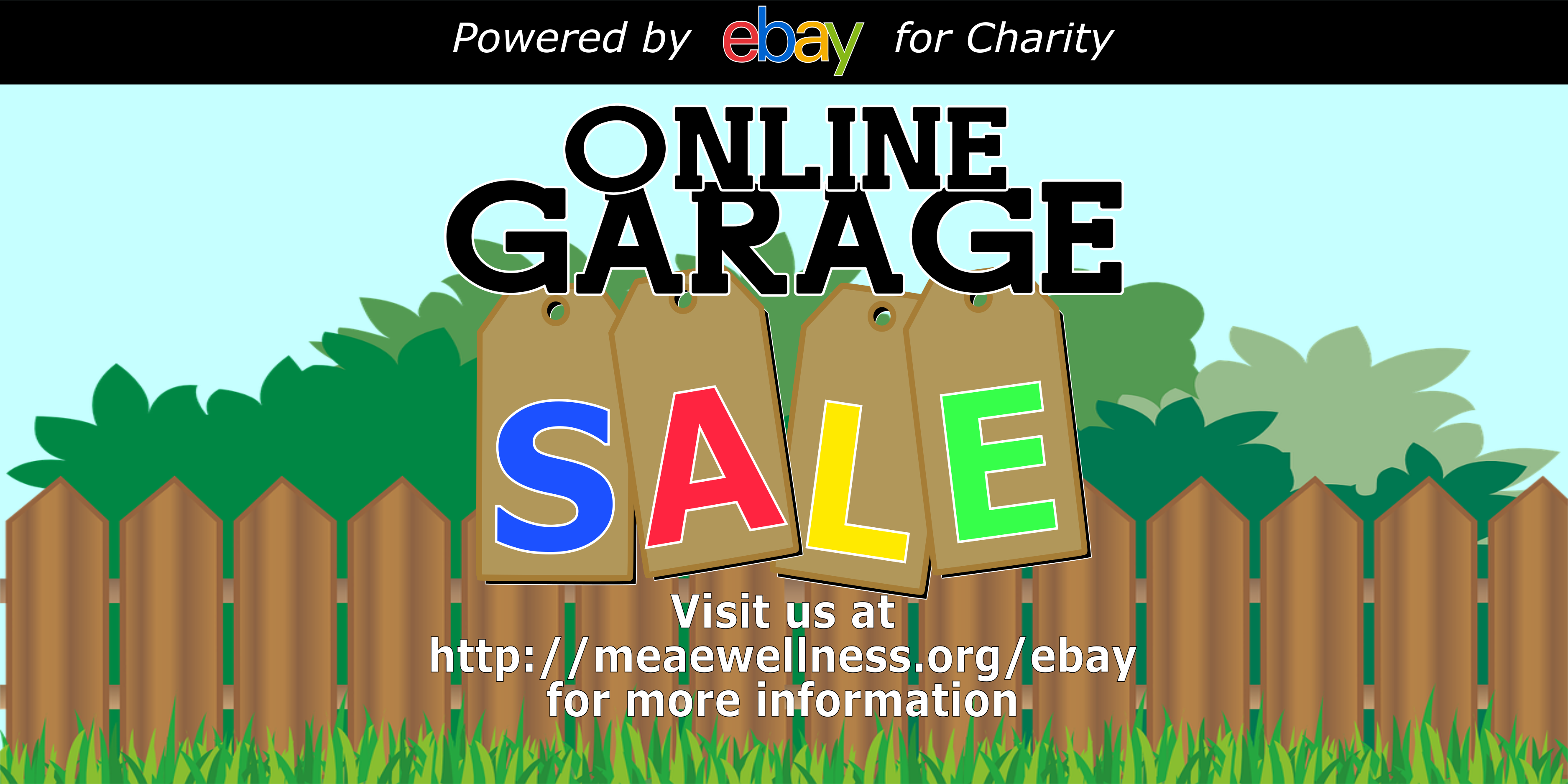 Meae Wellness Online Garage Sale powered by eBay for Charity